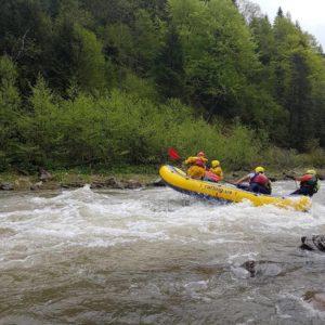 cheremosh rafting