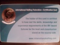 irf guide certificate