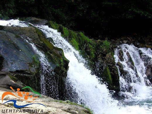 водоспад кам'янка, рафтинг по опору